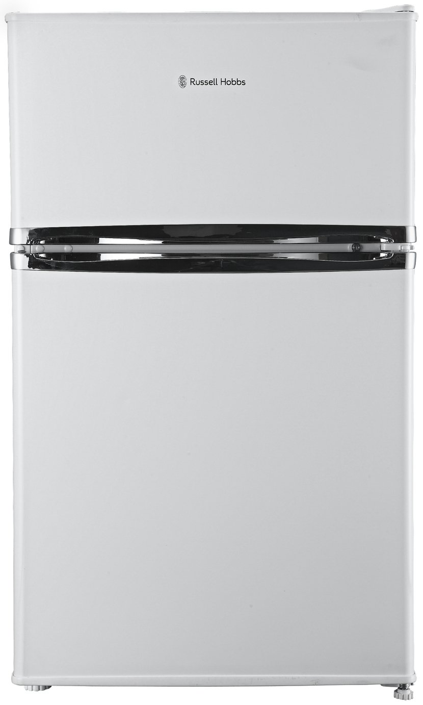 Russell Hobbs RHUCFF50W Under Counter Fridge Freezer - White Best Price, Cheapest Prices