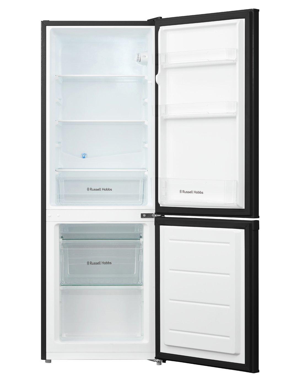 Buy Russell Hobbs Rh50ff144b Fridge Freezer Black At