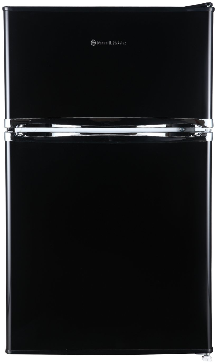Russell Hobbs RHUCFF50B Under Counter Fridge Freezer - Black Best Price, Cheapest Prices