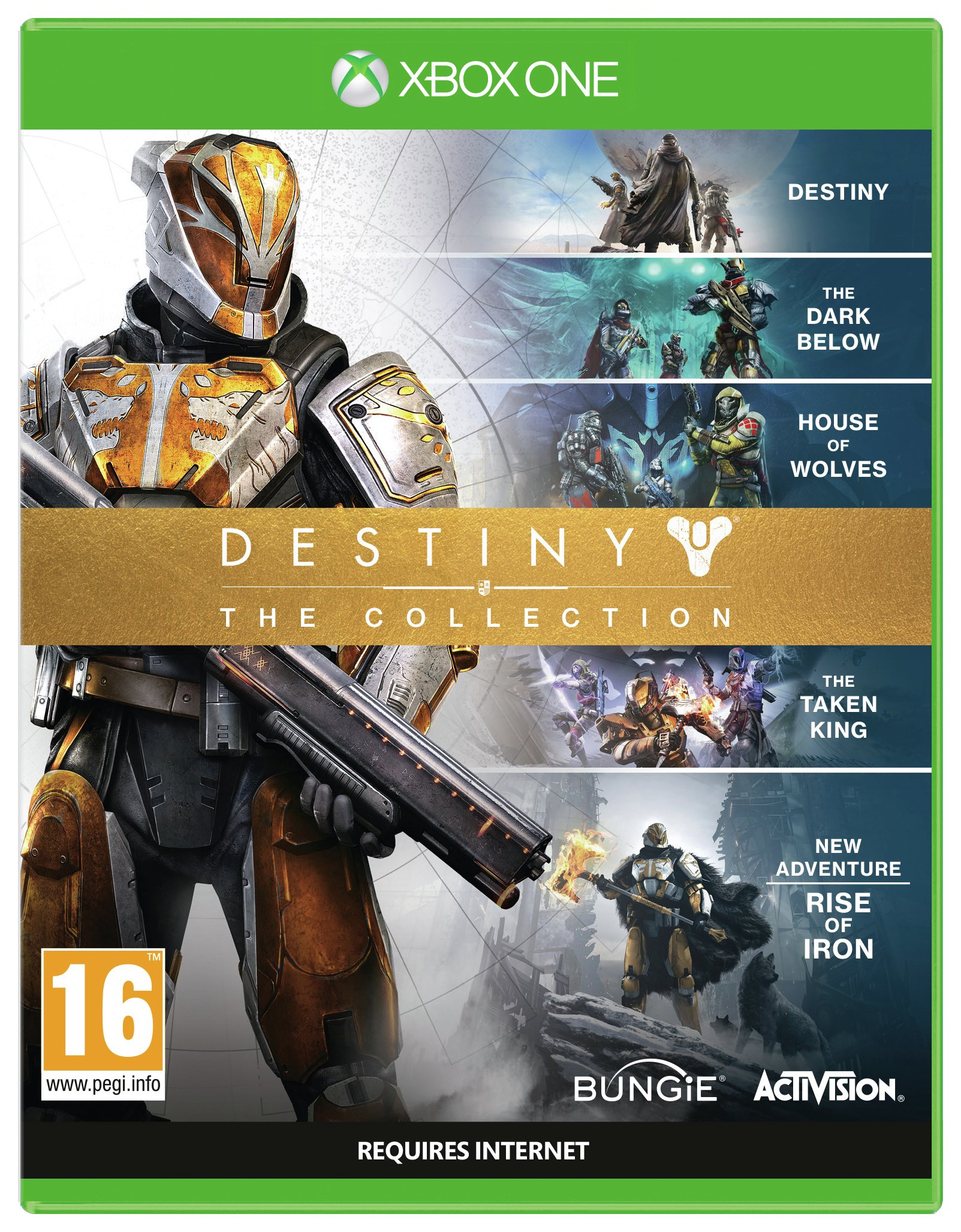 'Destiny: The Collection Xbox One Game.