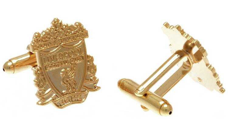 Gold Plated Liverpool FC Cufflinks.