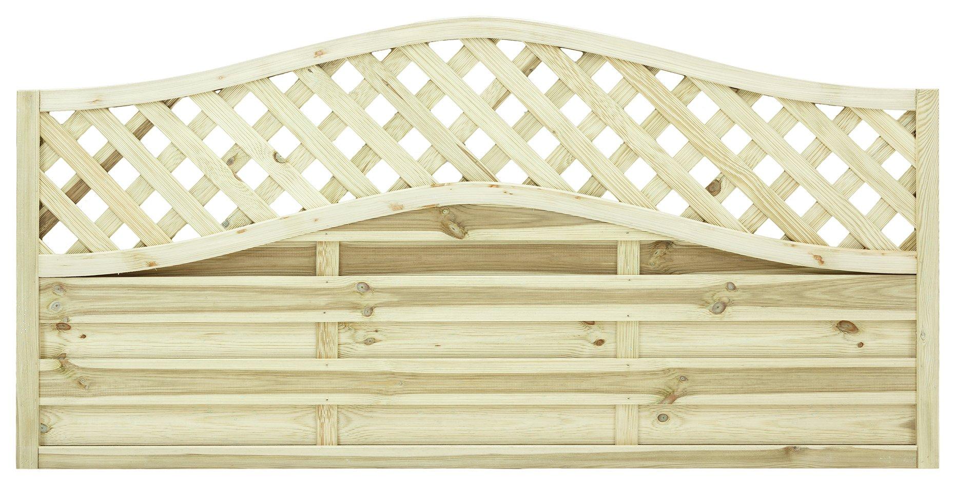 Grange 0.9m Elite St Meloir Fence Panel - Pack of 4. lowest price