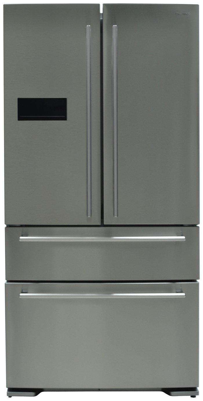 Sharp SJ-F1529E0I 2 Drawer Fridge Freezer - Stainless Steel