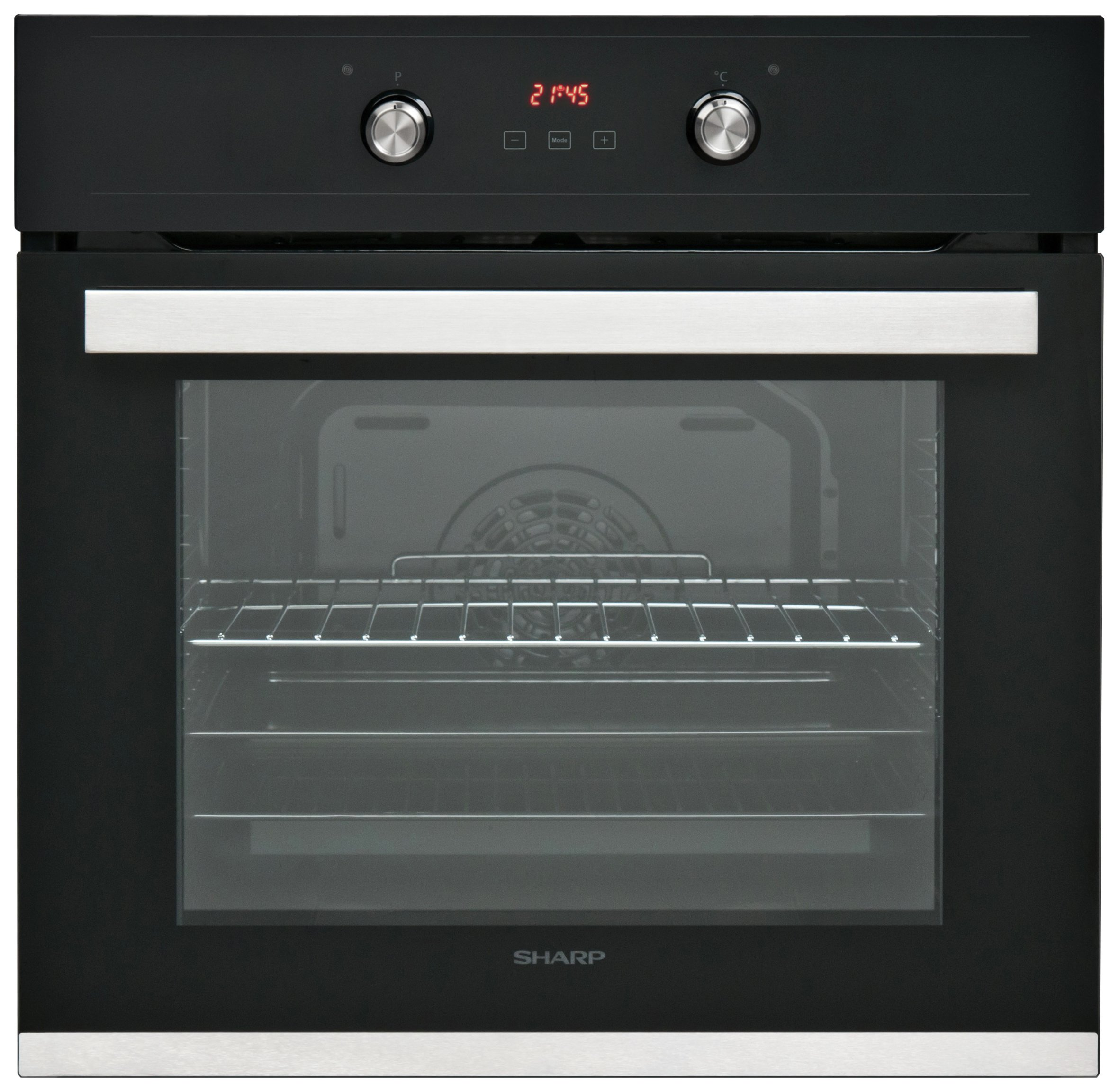 Sharp - K60D22BM1 - Single Electric Fan Oven - Black