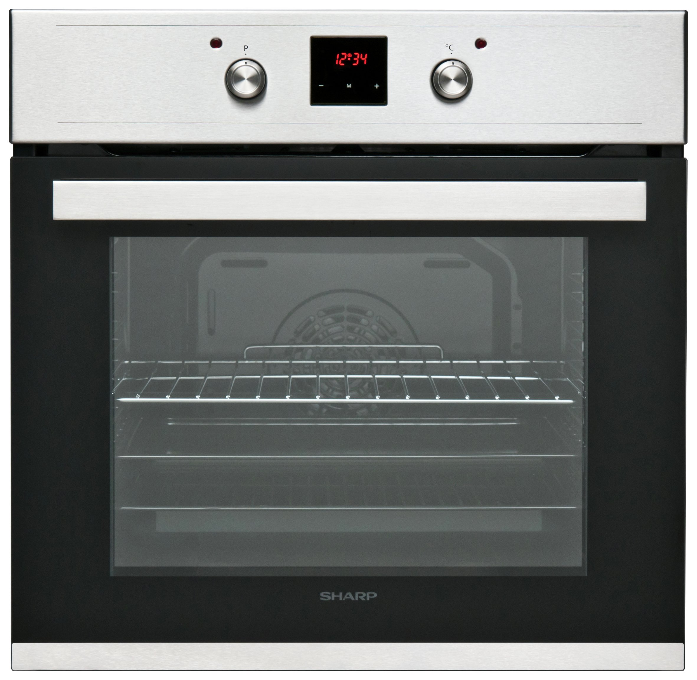 Sharp - K60D22IM1 - Single Electric Fan Oven - Stainless Steel