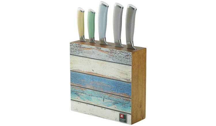 Richardson Sheffield Coast 5 Piece Knife Block.