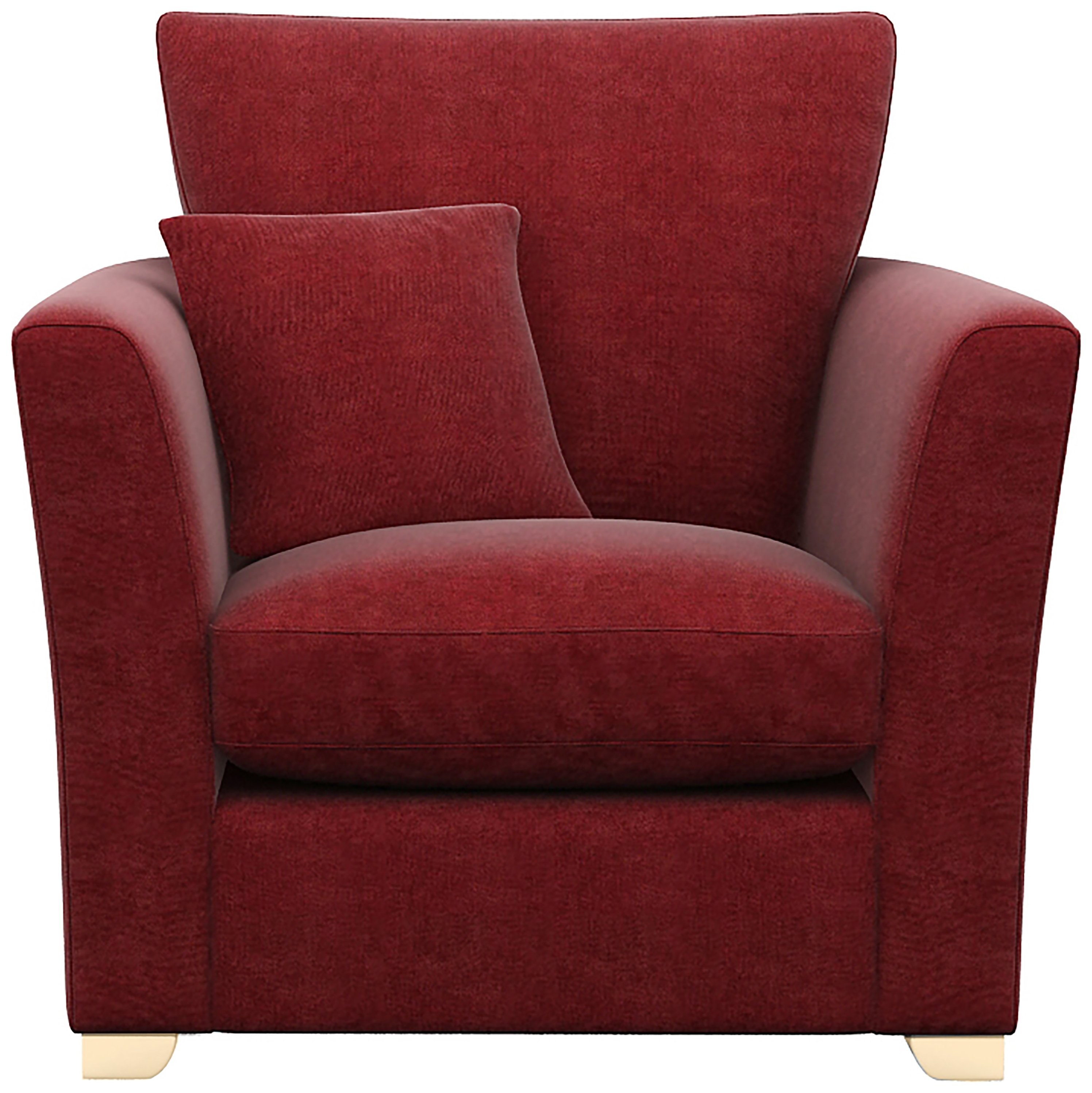 Image of Libby Fabric Chair - Red