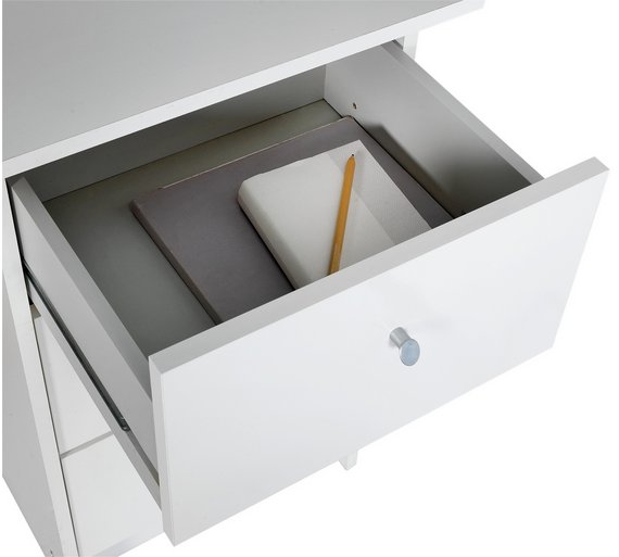 Kids White Desk With Drawers Floating Desk For Sale