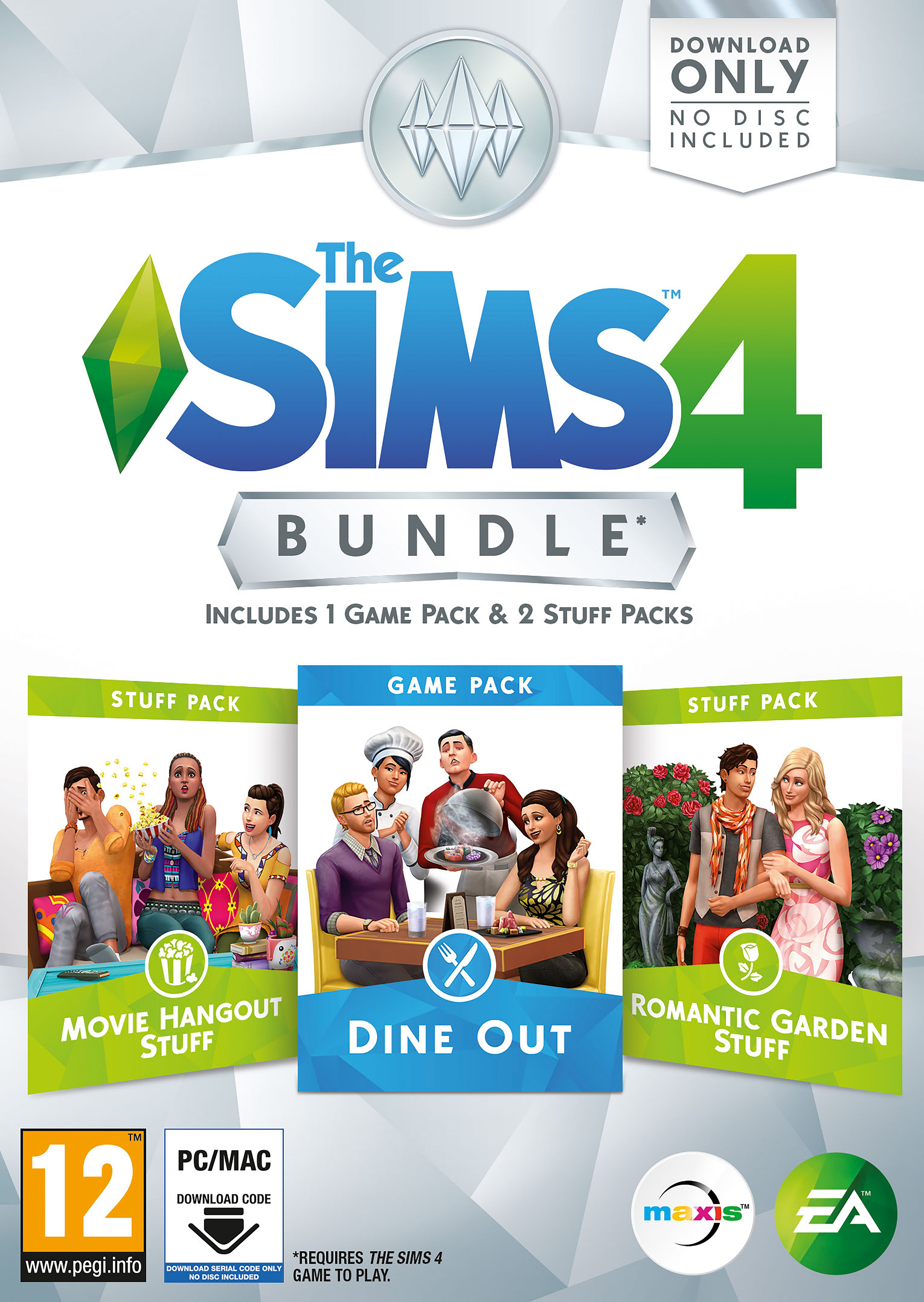 The Sims The Sims 4 Bundle Pack: Dine Hangout.
