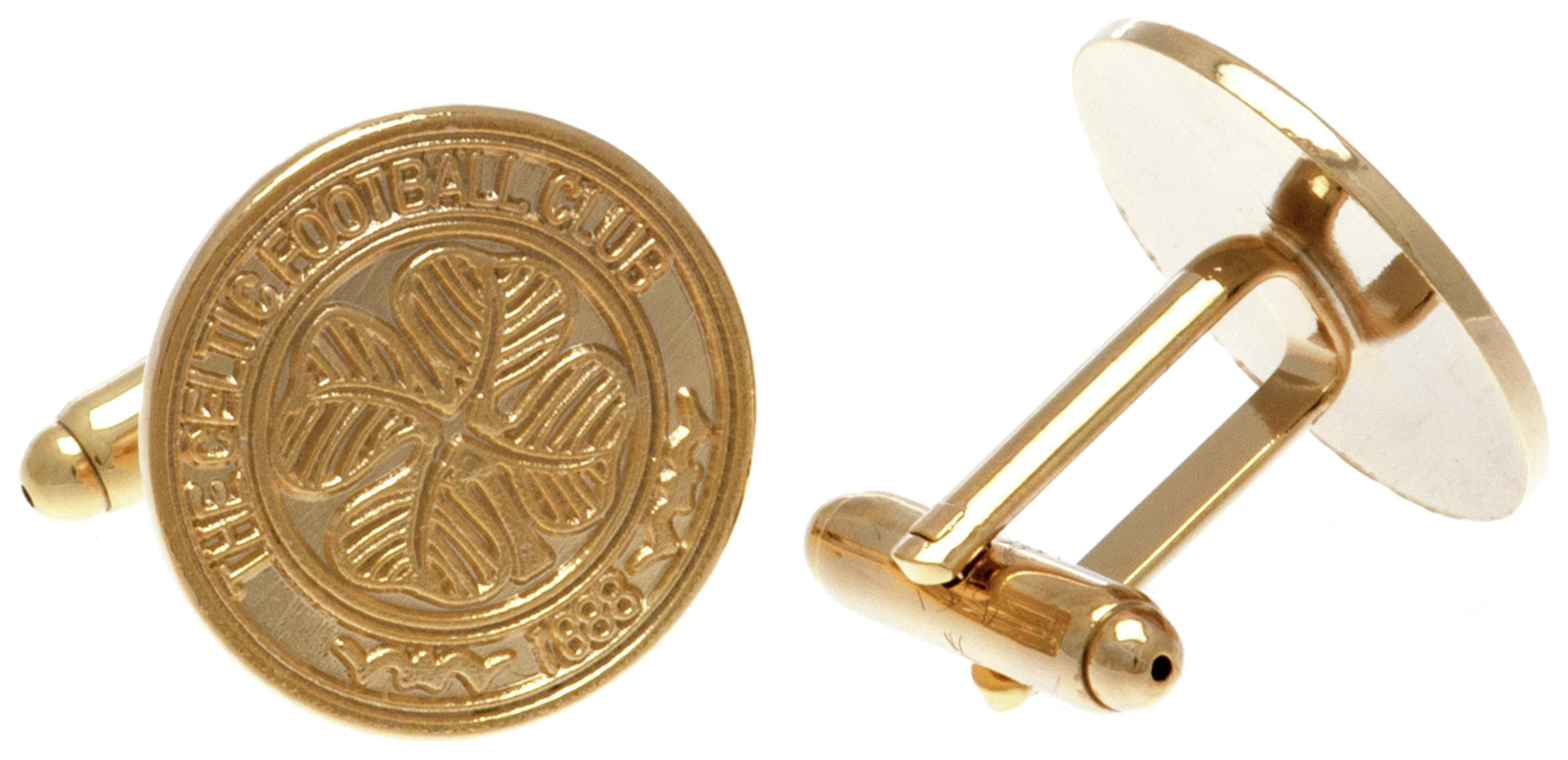 Image of Gold Plated Celtic Cufflinks.