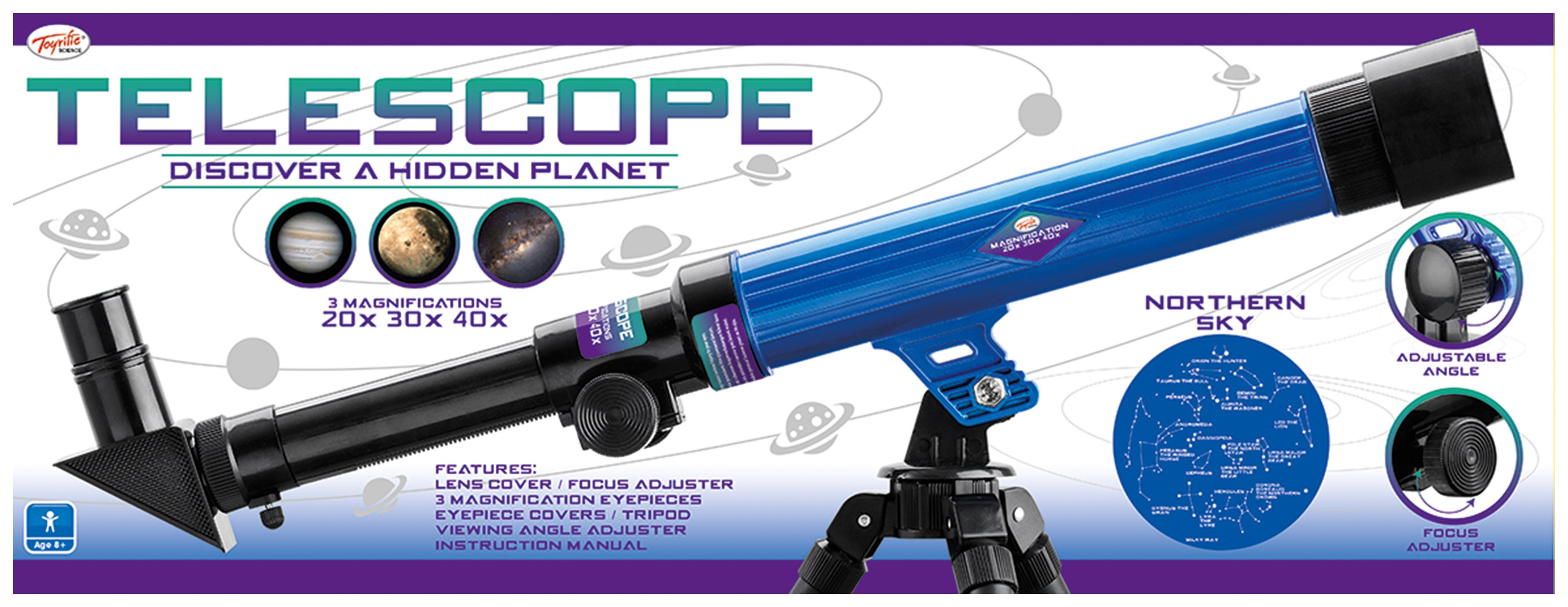 Toyrific Telescope with Tripod
