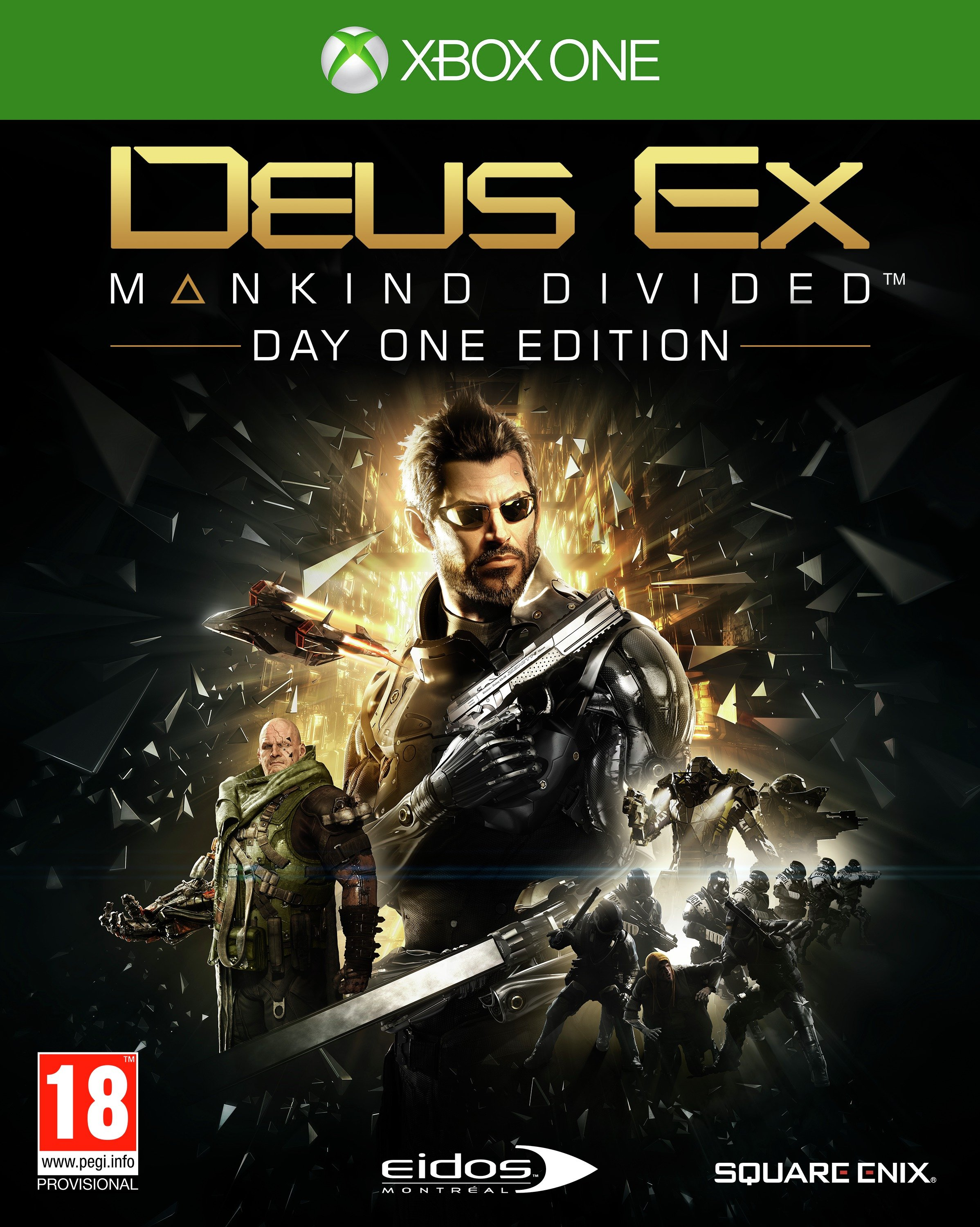 Image of Deus Ex - Mankind Divided - Xbox - One Game.