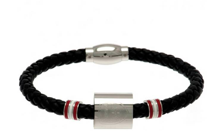 Stainless Steel and Leather Arsenal - Bracelet.