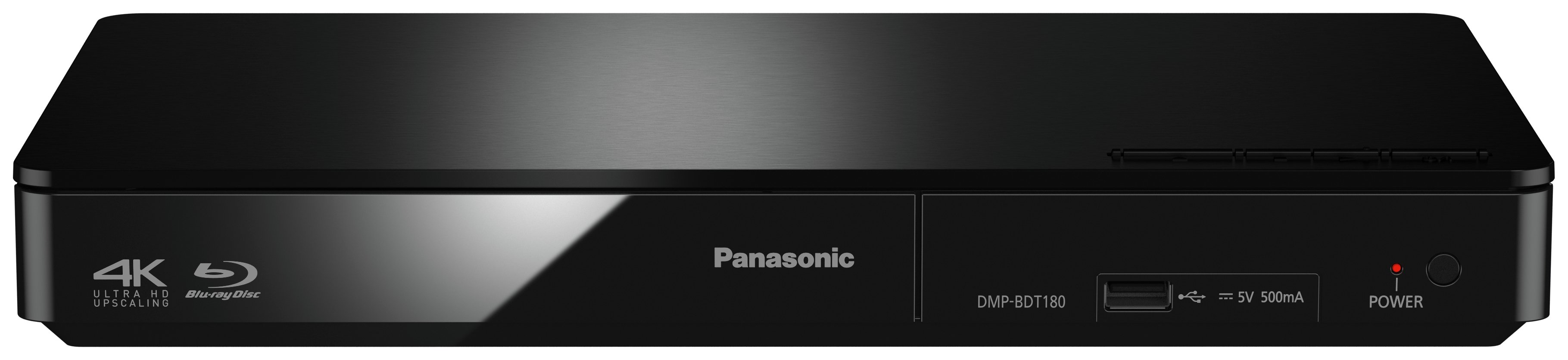 Image of Panasonic - BDT180 - Smart 4K Ready 3D Blu-ray Player.