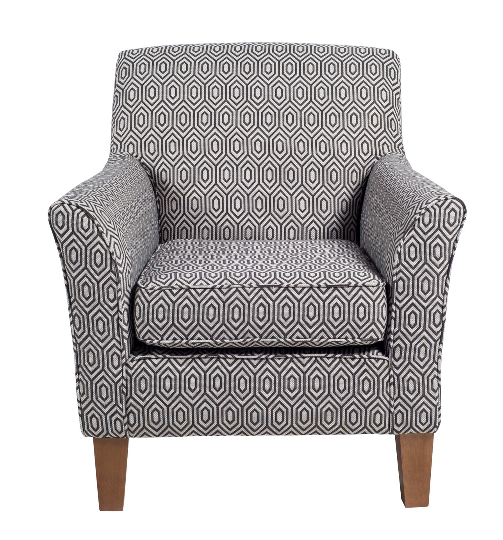 Argos Home Soren Fabric Accent Chair - Charcoal