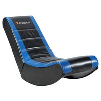 X Rocker Gaming Chair - Black and Blue.