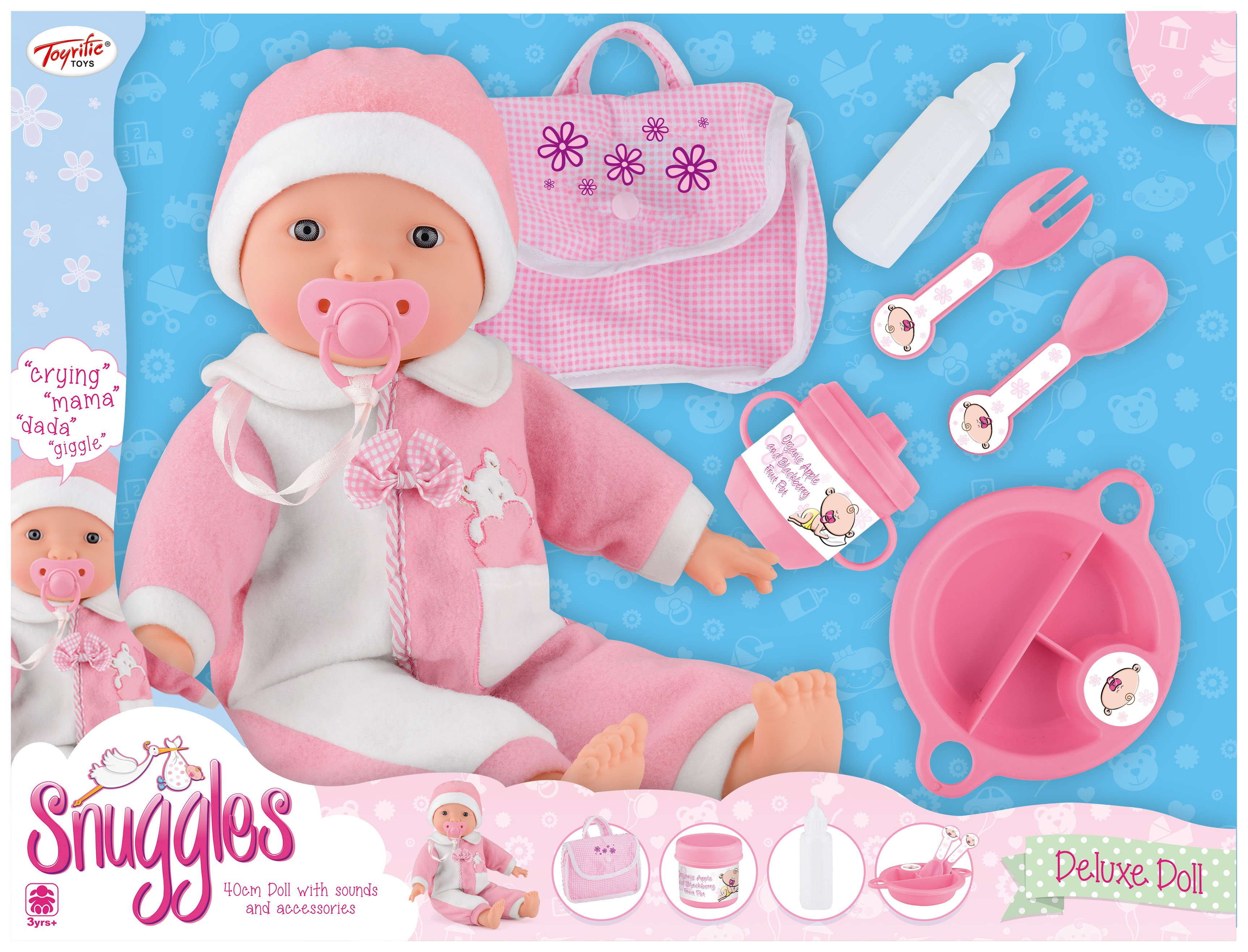 Image of Snuggles Doll with Sounds and Accessories