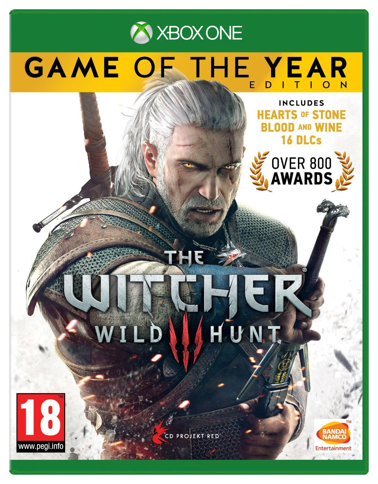 Image of The Witcher 3: Wild Hunt Game of the Year Xbox One Game.