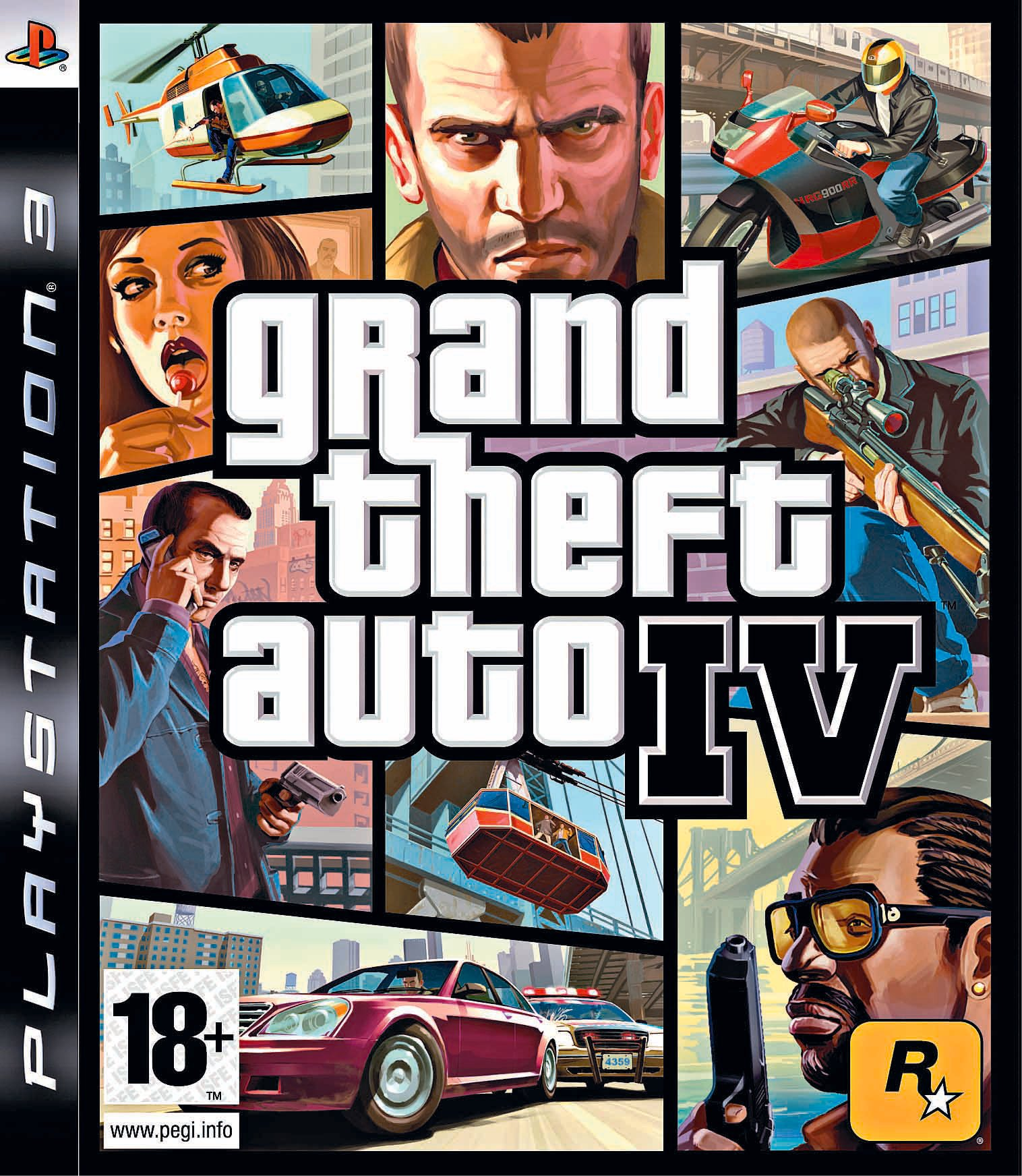 Image of Grand Theft Auto: IV - PS3 Game