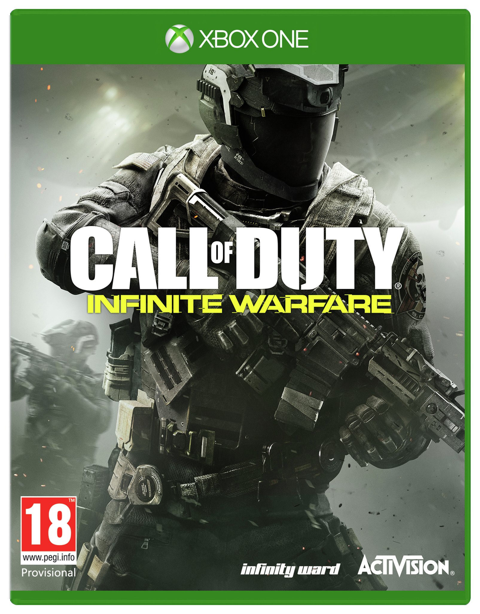 Image of Call of Duty: Infinite Warfare Xbox One Game.
