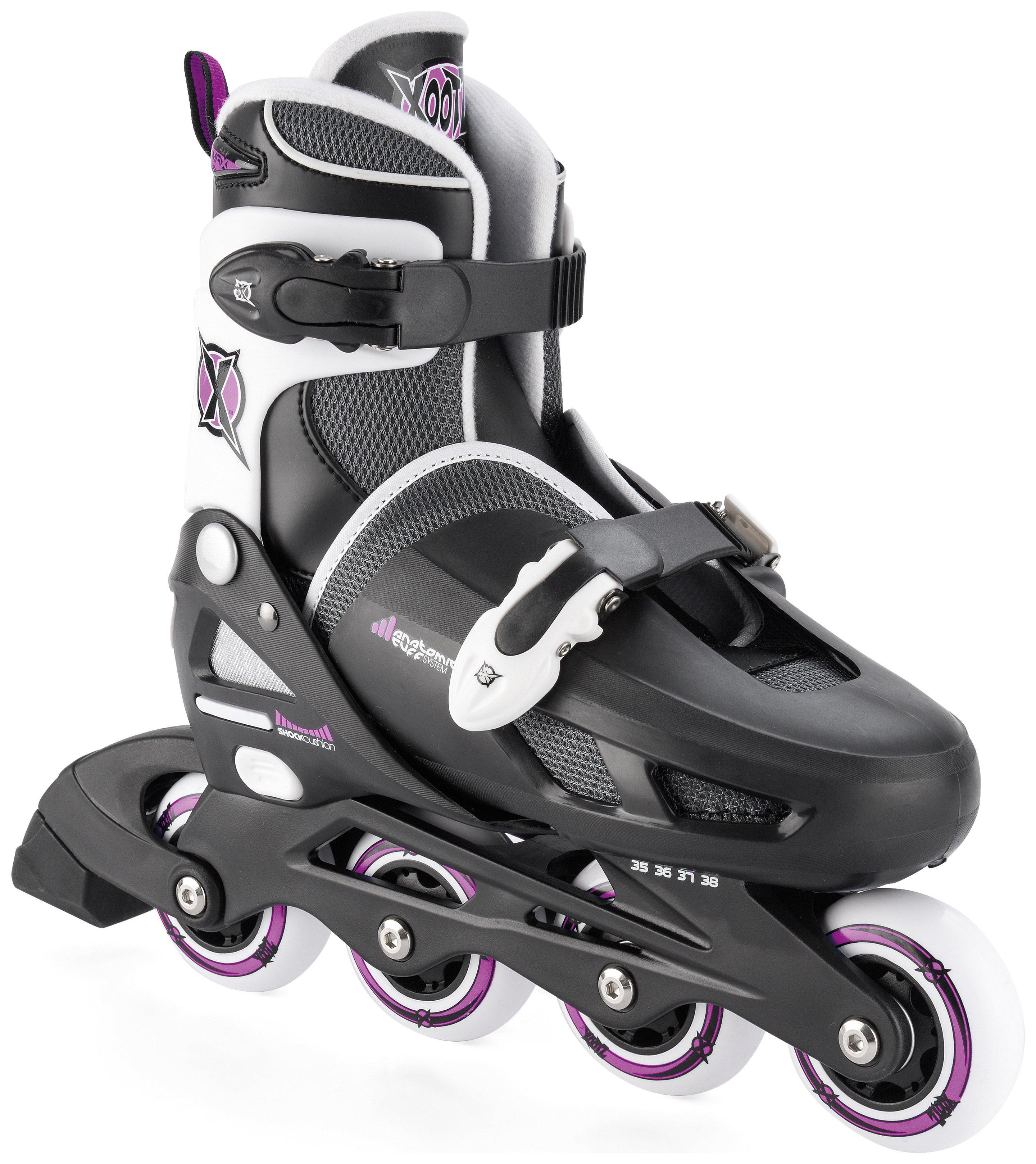 Xootz Inline Skates XY400P - Size 1-4.
