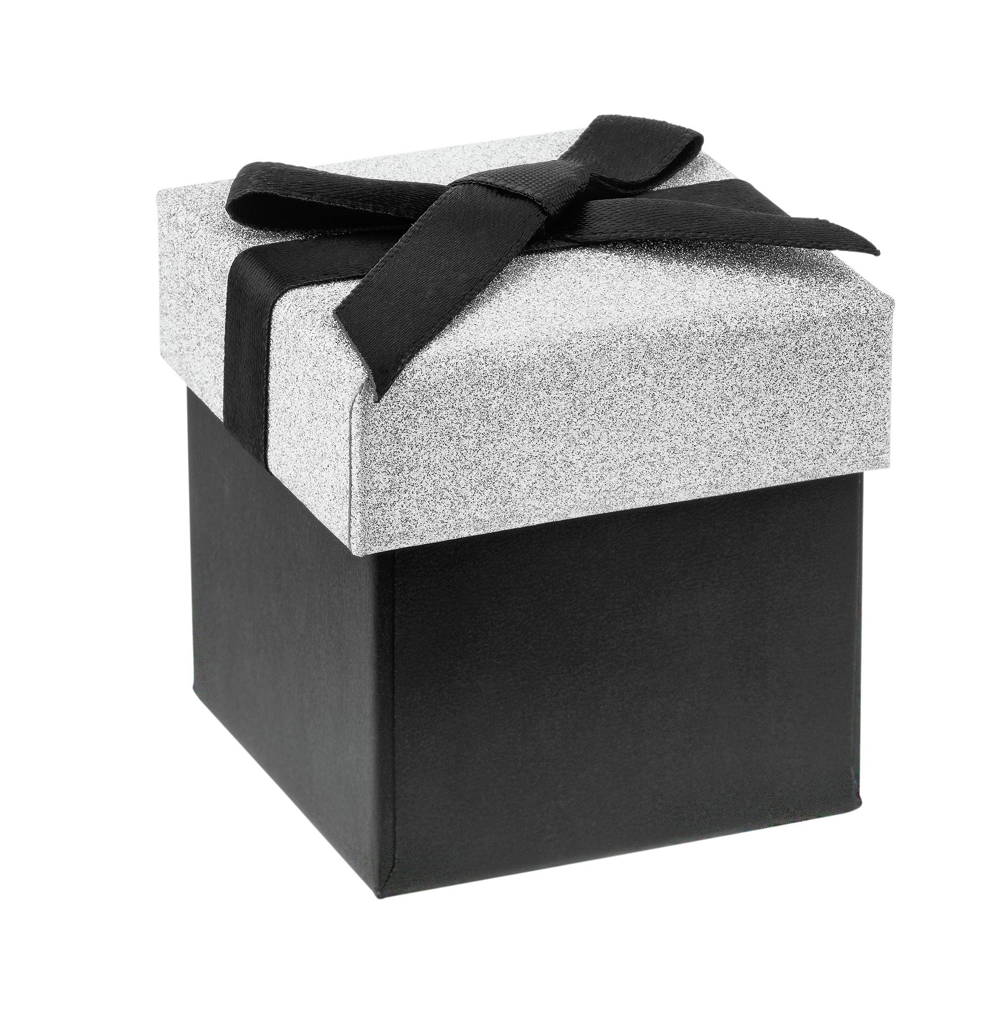 Image of Silver and Black Mini - Gift Box