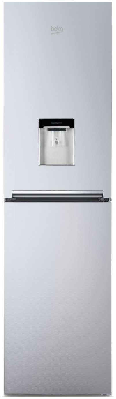 Beko CFG1582DS Fridge Freezer - Silver