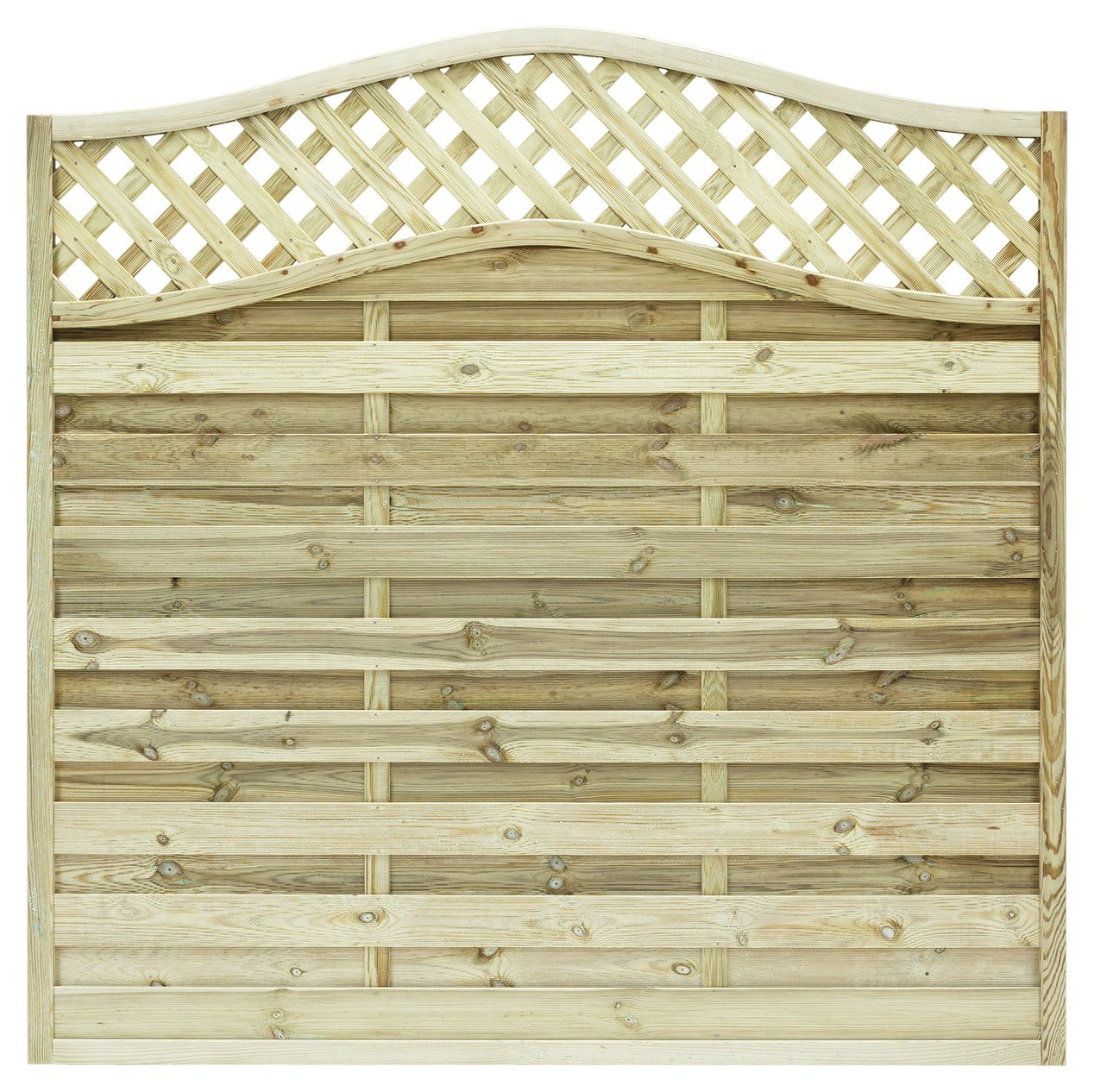 Grange 1.8m Elite St Meloir Fence Panel - Pack of 5. lowest price