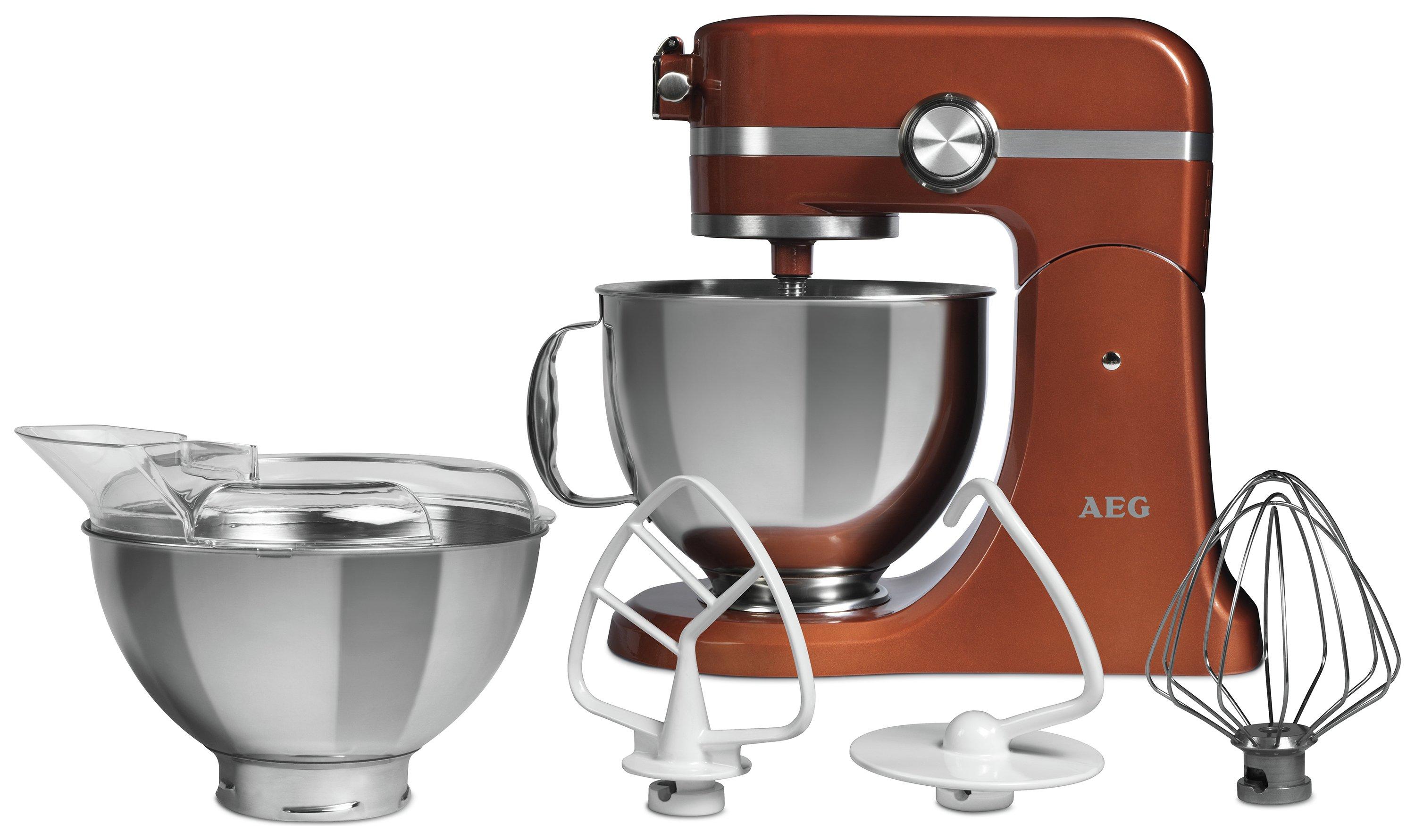 Image of AEG - Ultramix - Kitchen Machine - Bronze