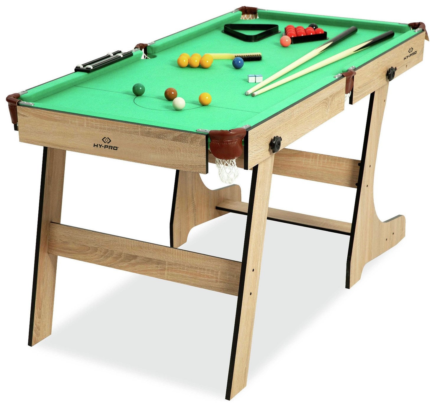'Hy-pro 5ft Folding Snooker And Pool Table