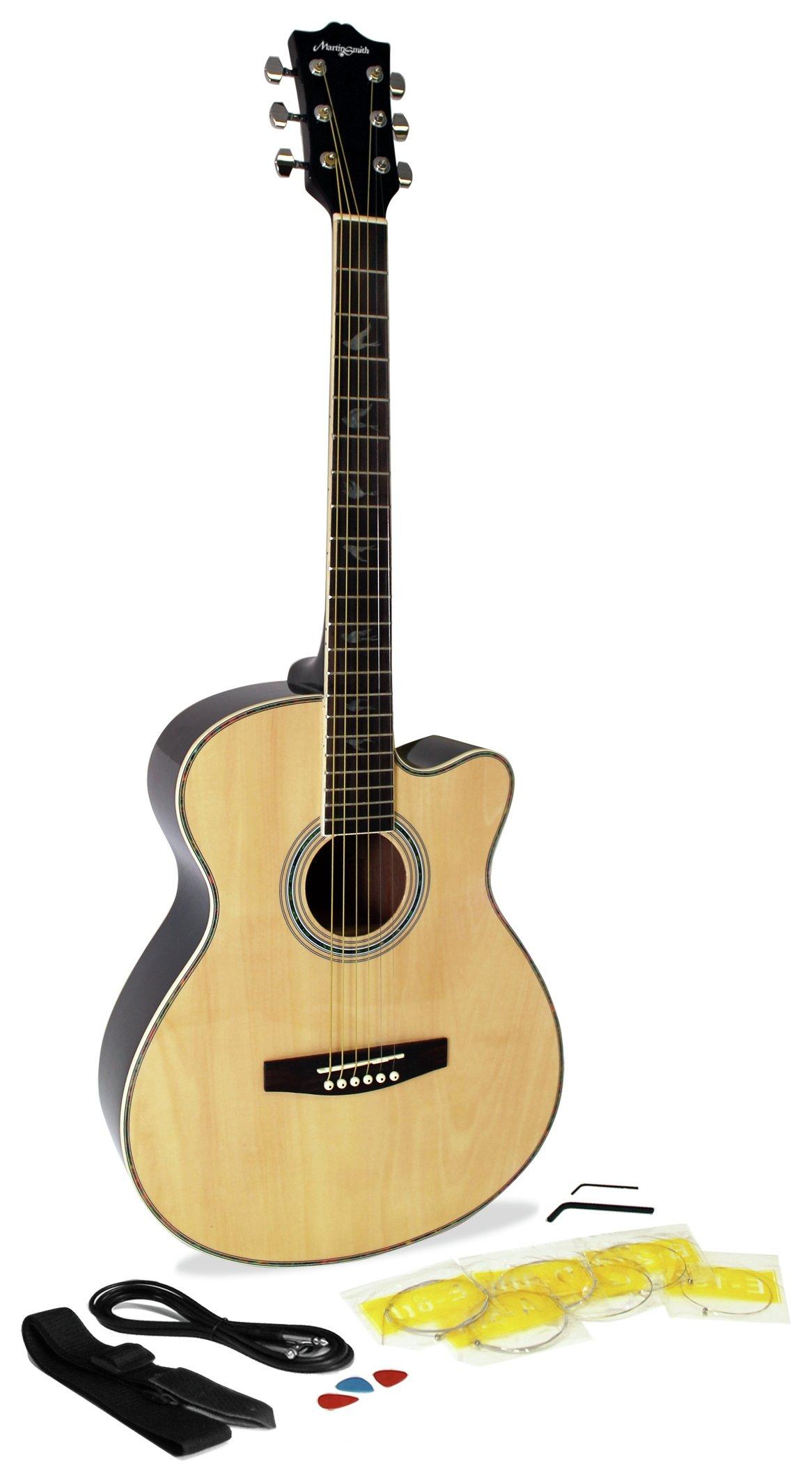 Martin Smith Natural Electro Acoustic Guitar 5711442 Argos Price Tracker Pricehistory Co Uk