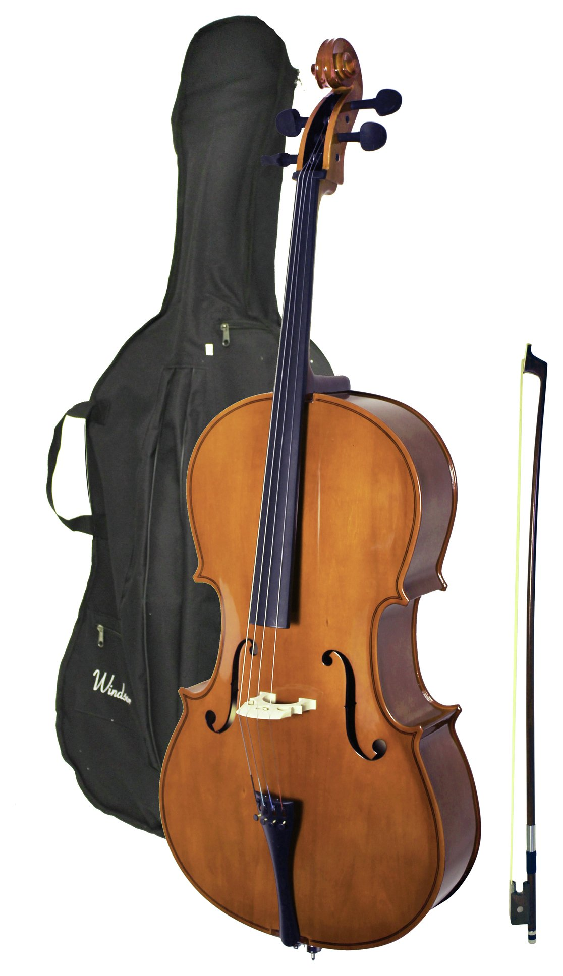 Image of Windsor Cello 4/4 Size with Bag.