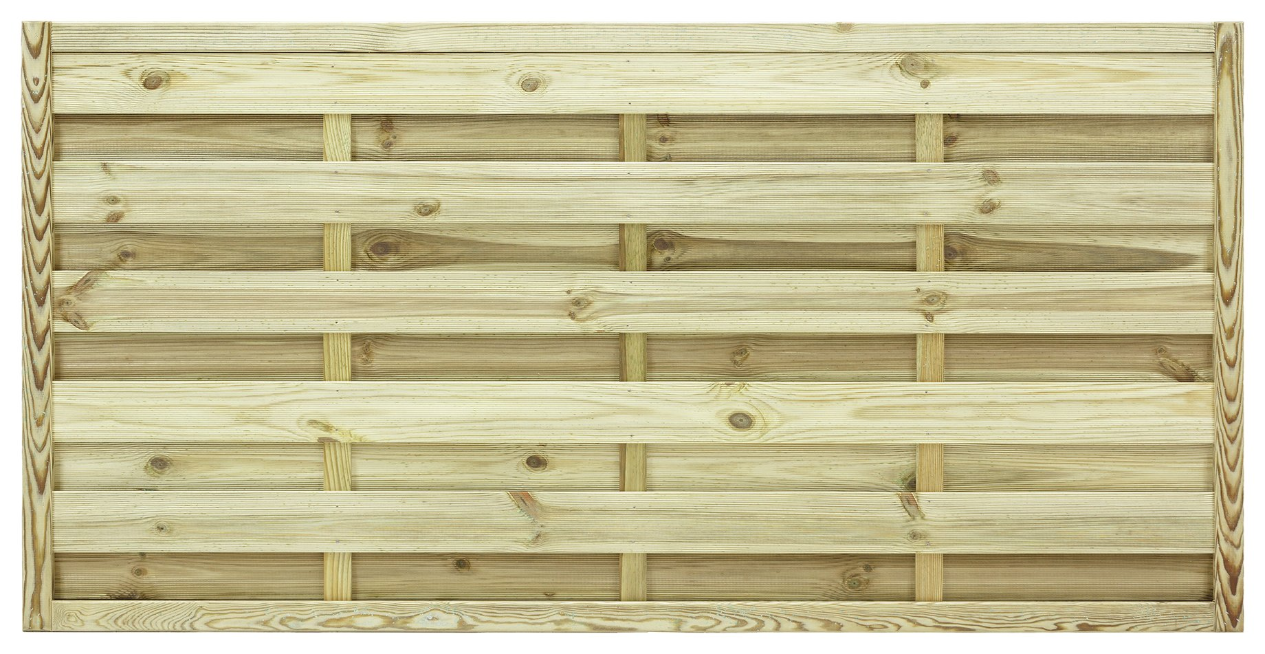 Image of Grange 0.9m St Espirit Square Fence Panel - Pack of 3.