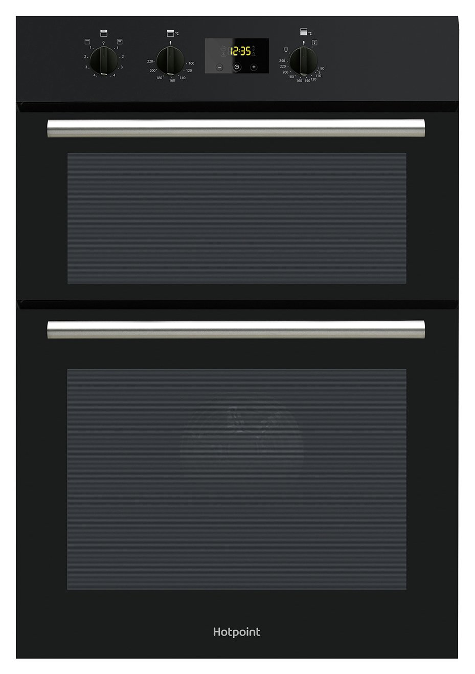 Hotpoint - DD2540BL - Built-In Double Oven - Black