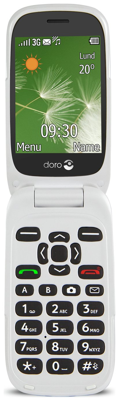 Image of Sim Free Doro 6520 Mobile Phone - Black
