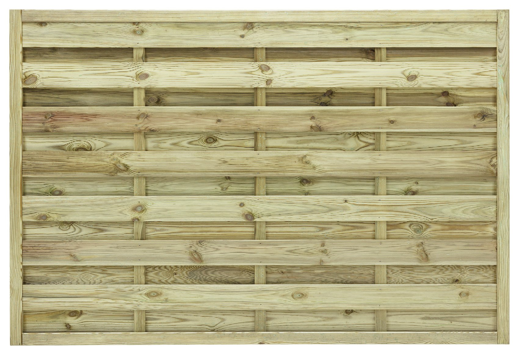 Image of Grange 1.2m St Espirit Square Fence Panel - Pack of 4.