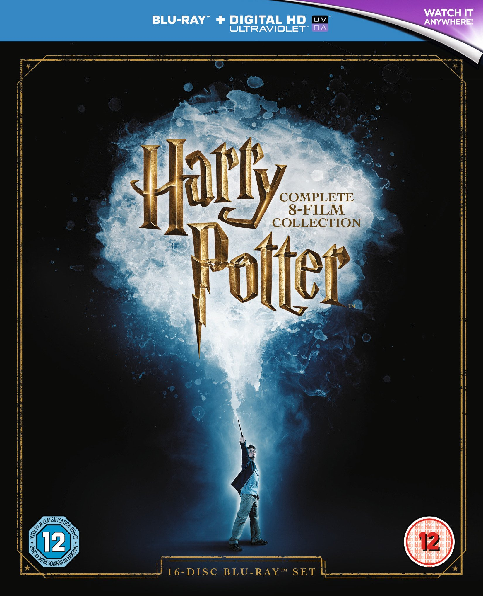 Harry Potter Harry Potter: The Complete 8 Film Collection 2016 Edition.