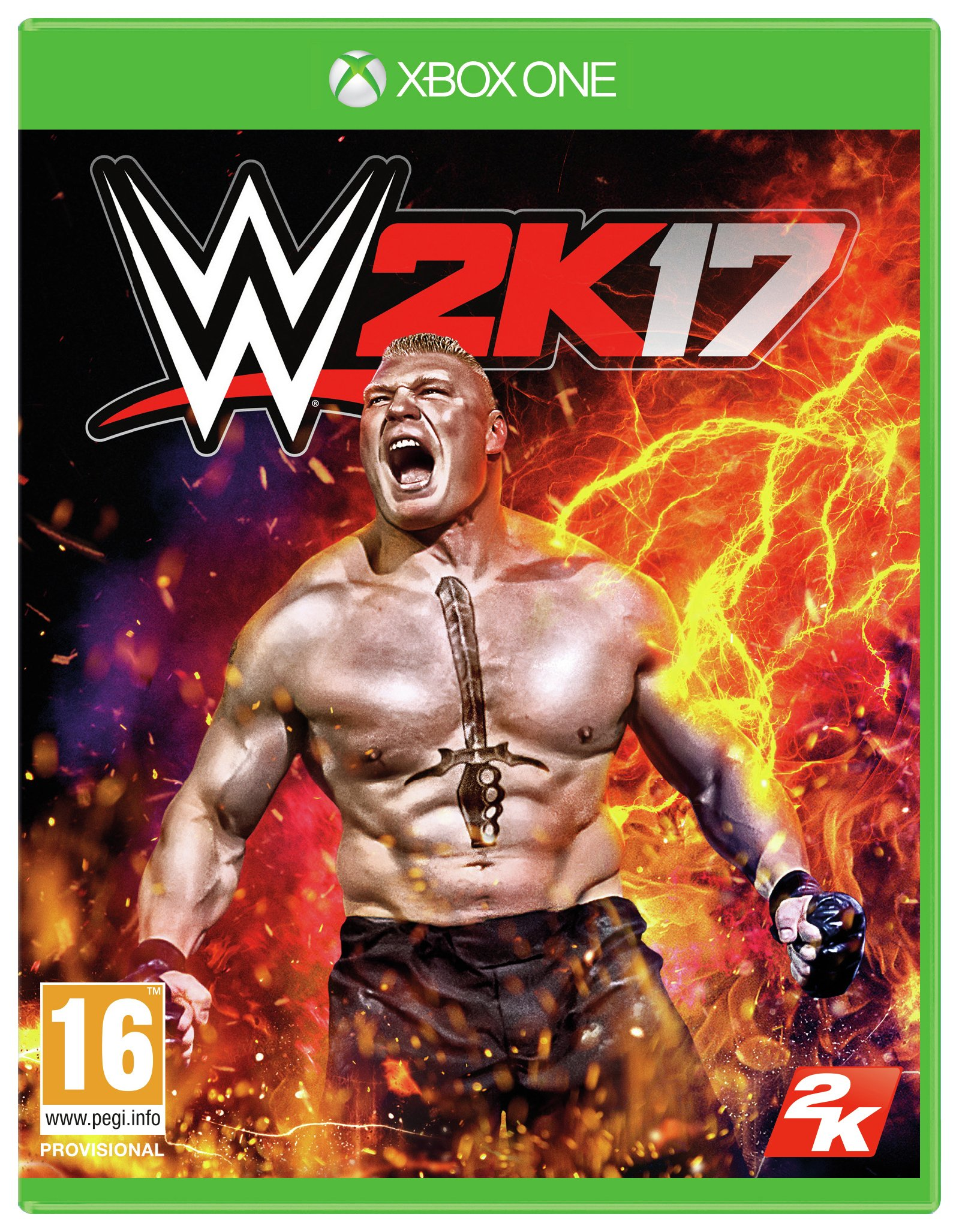 Image of WWE 2K17 - Xbox - One Game.
