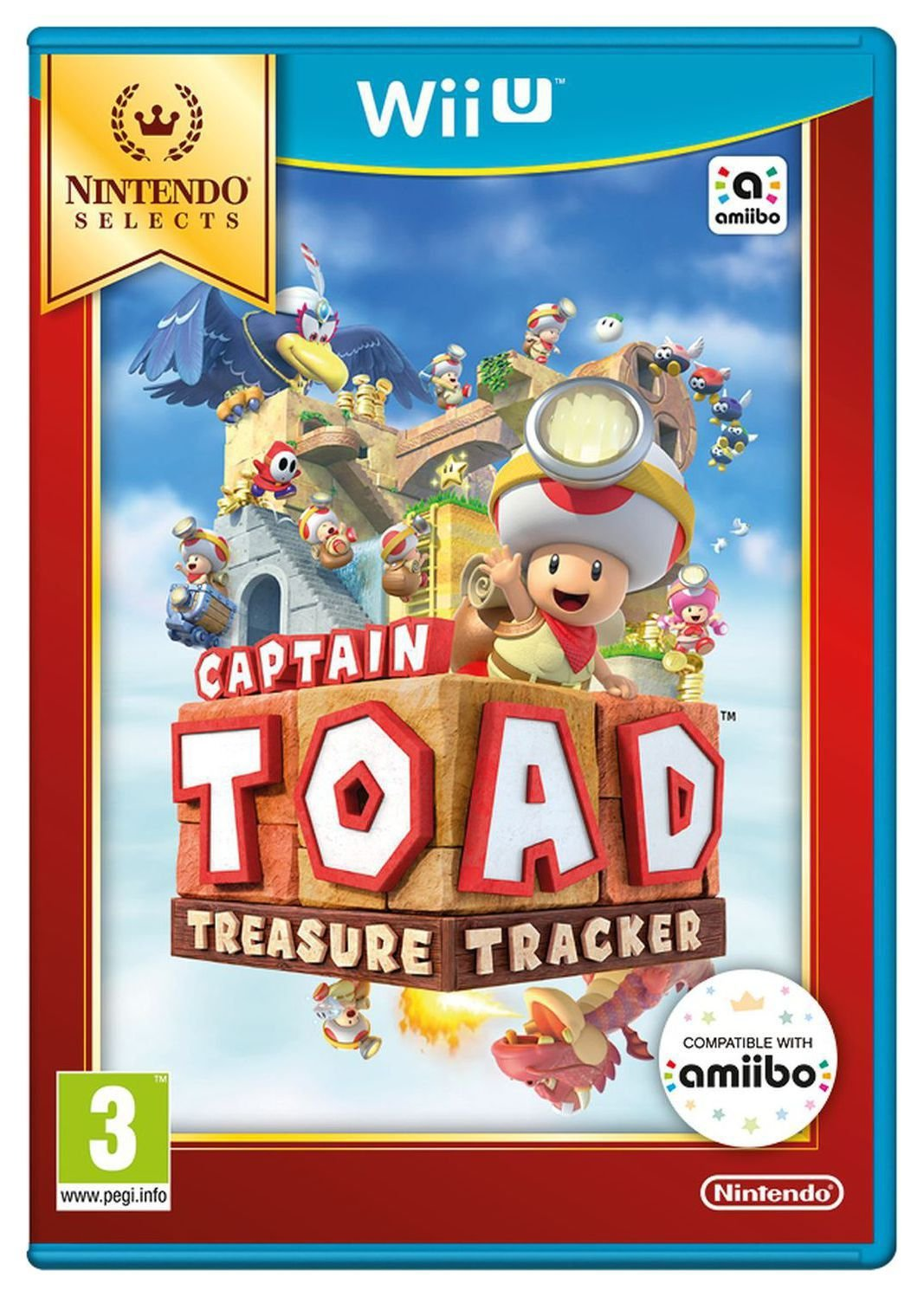 Image of Captain Toad - Nintendo - Wii U - Game