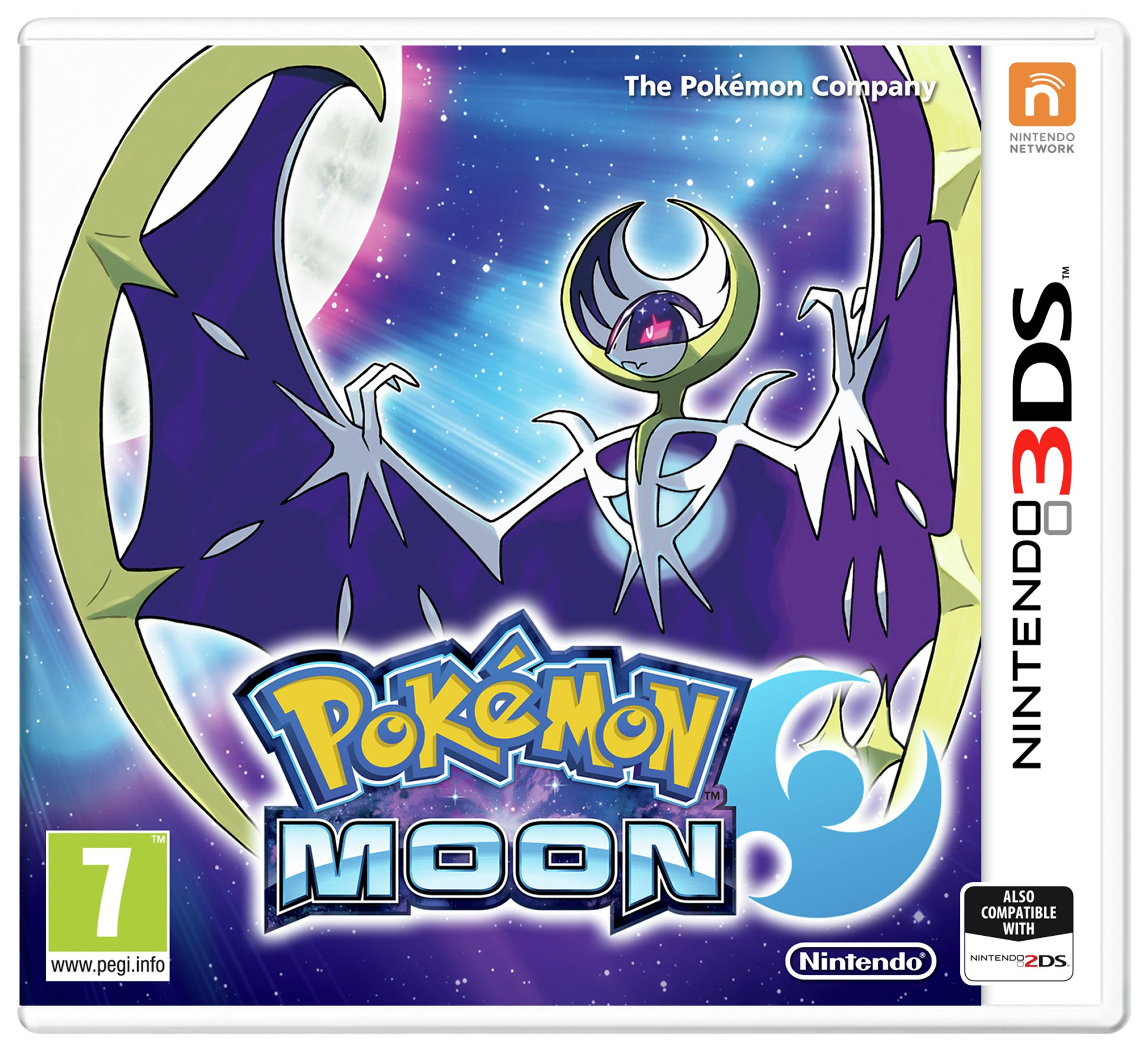 Pokemon Moon Nintendo 3DS Game