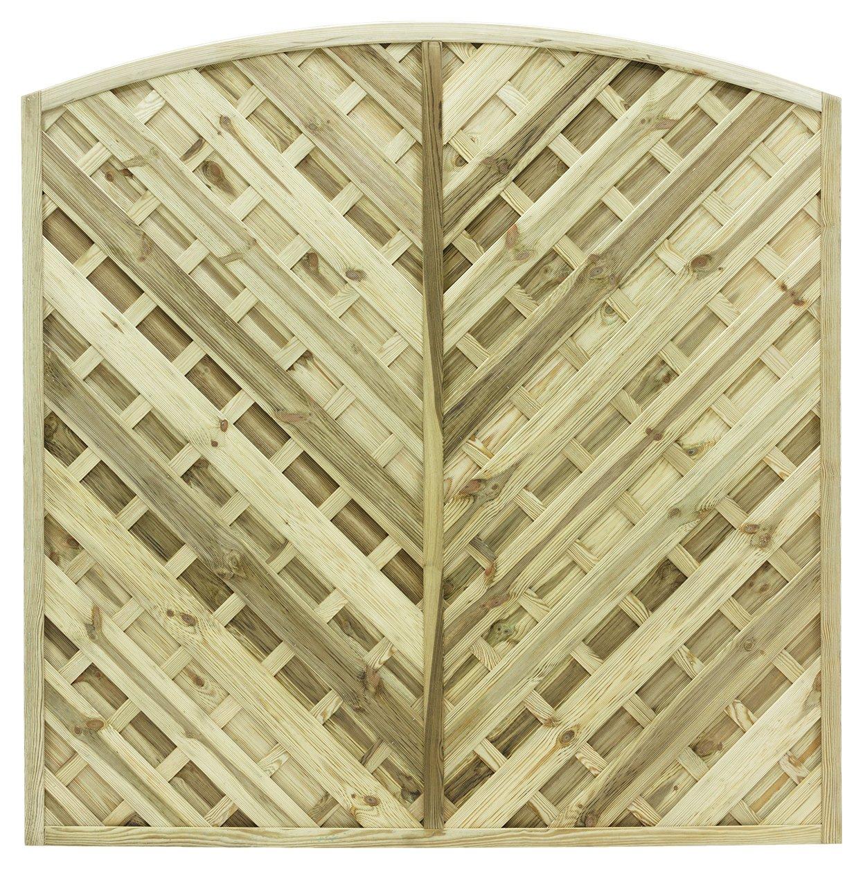Grange Elite St Lunairs 1.8m Fence Panel - Pack of 5. lowest price