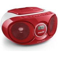 Philips - AZ215R/05 Boombox - Red