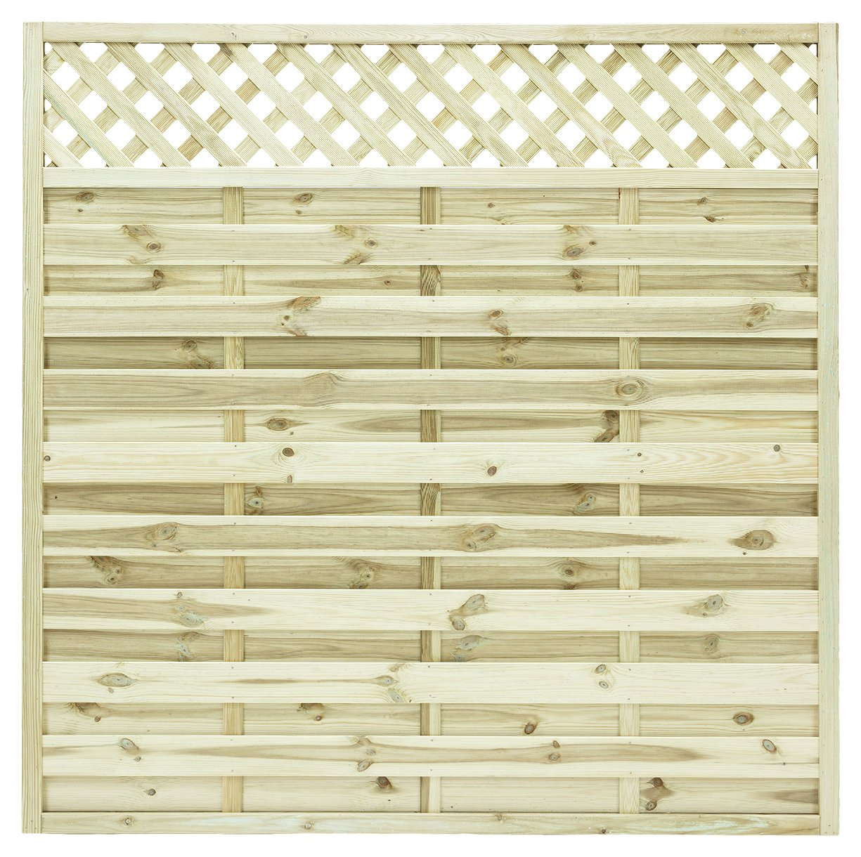 Grange St Malo 1.8m Fence Panel - Pack of 4. lowest price