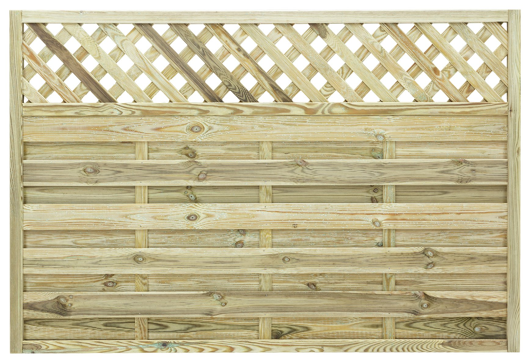 Grange - Elite St Malo 12m Fence Panel - Pack of 5 lowest price