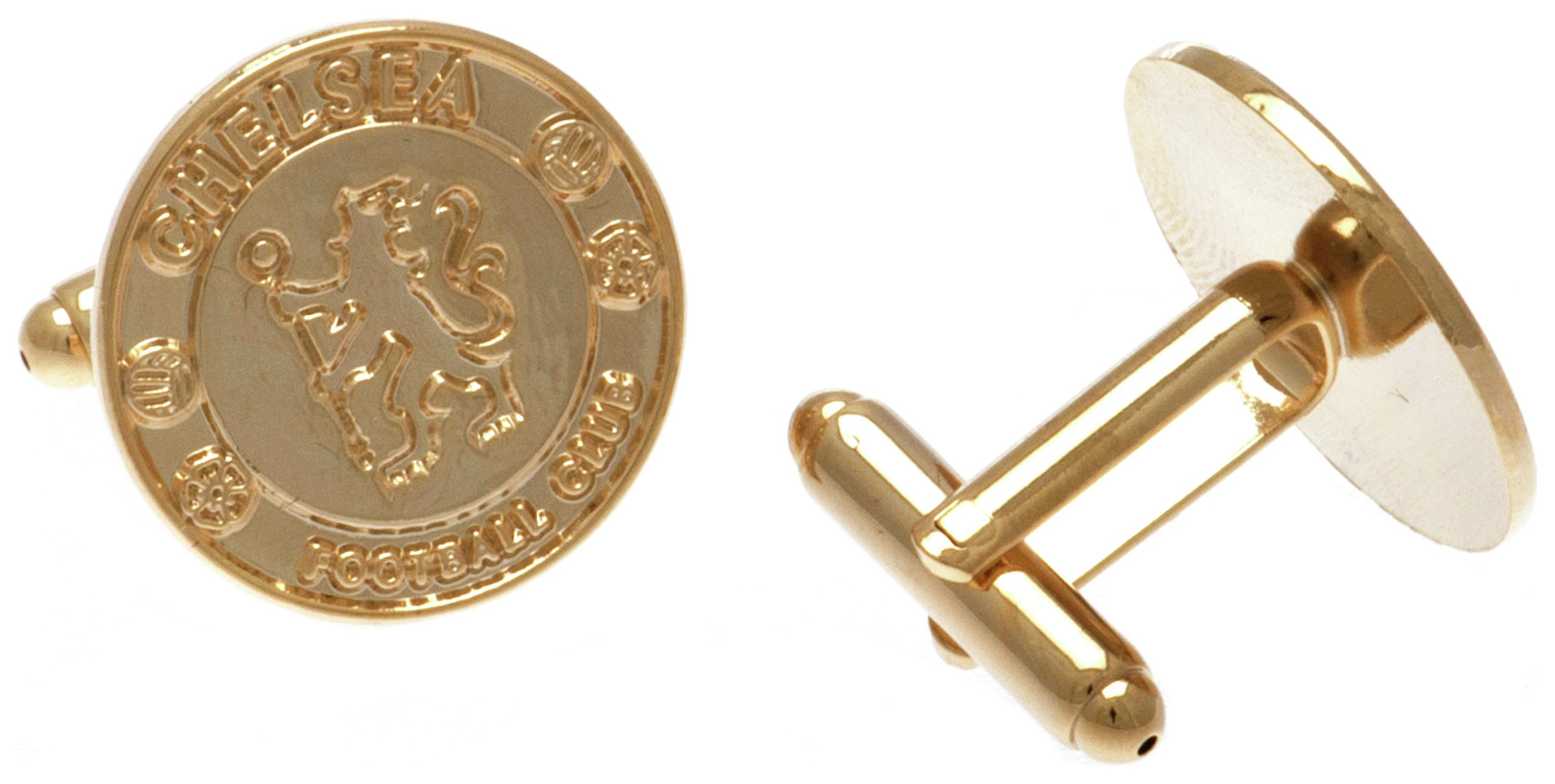 Gold Plated Chelsea Cufflinks.