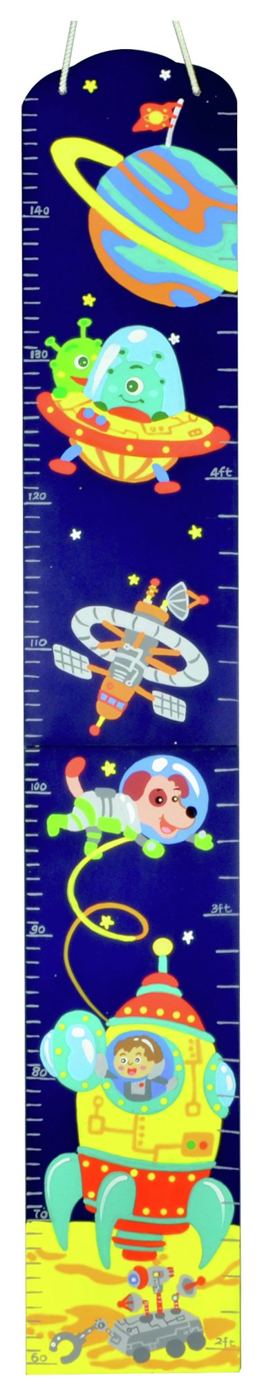 Image of Fantasy Fields Outer Space Growth Chart.