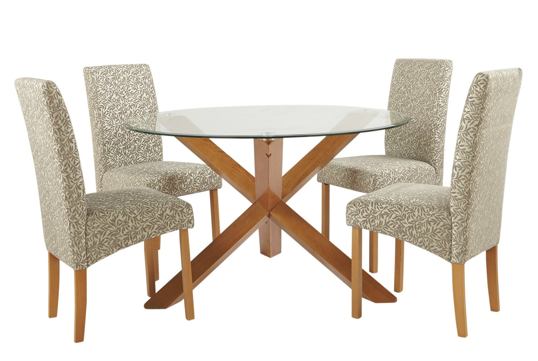 Buy Heart of House Oakington Round Glass Table amp 4 Chairs  : 5718036RZ001AWebampw570amph513 from www.argos.co.uk size 570 x 513 jpeg 36kB