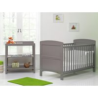 OBaby Grace 2 Piece Room Set - Taupe Grey.