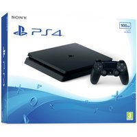 Sony PS4 Slim 500GB Console - Black