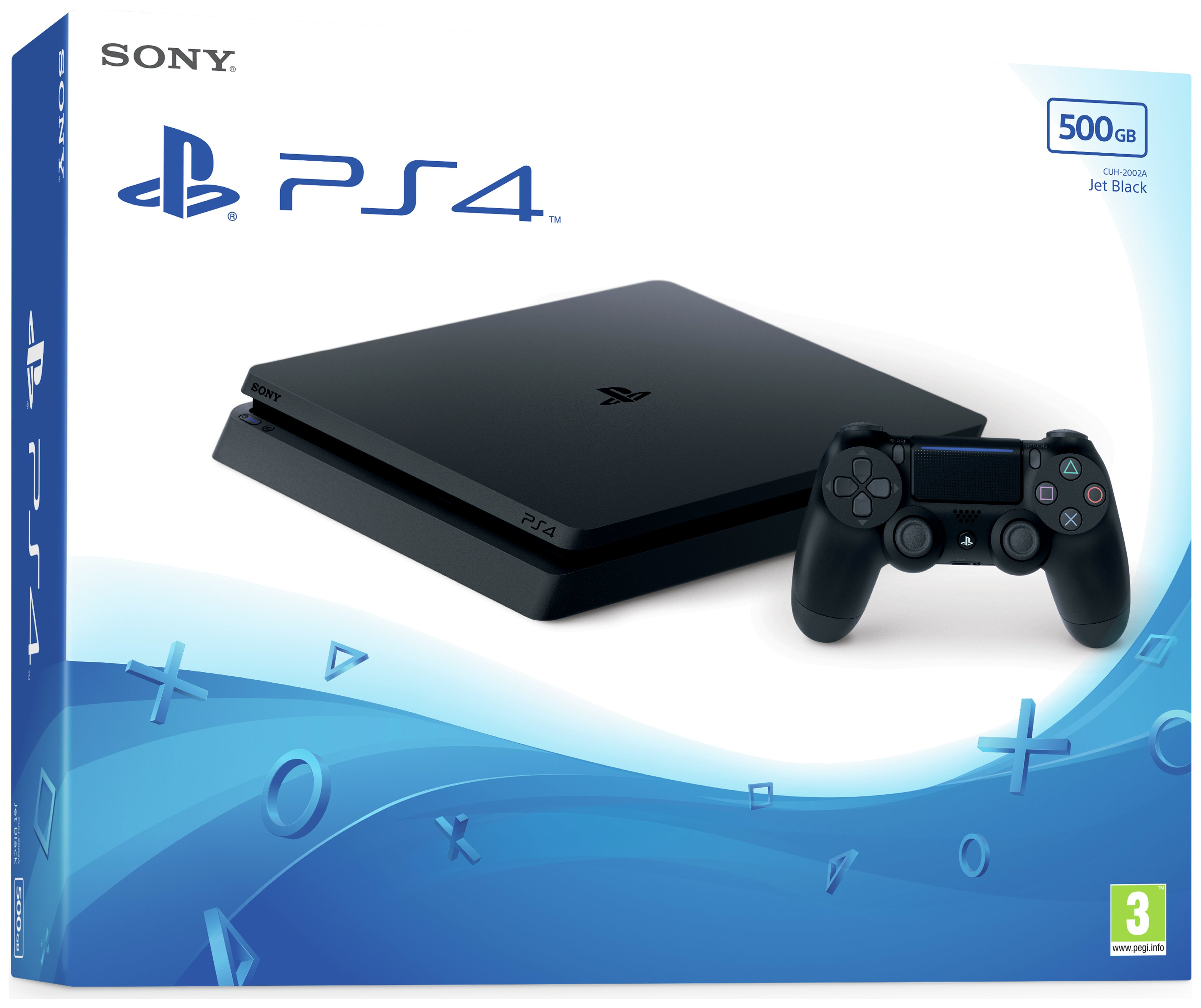 Buy Sony Ps4 Slim 500gb Console Black At Argos Co Uk